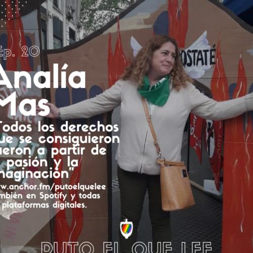 Ep. 20: En los pasillos del congreso con Analía Mas