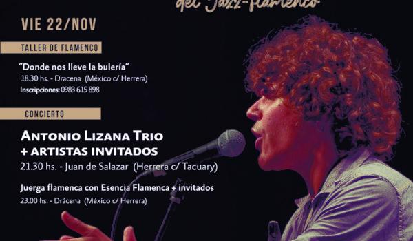 Flamenco-jazz en Paraguay con Antonio Lizana