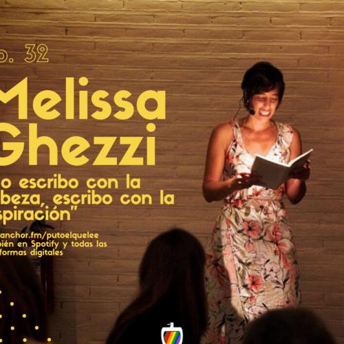 Ep. 32: Tocar la poesía con Melissa Ghezzi
