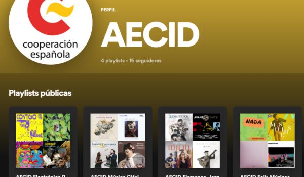 El catálogo musical de la AECID ¡ya disponible en Spotify!