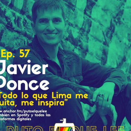 Ep 56: La roña limeña en prosa, con Javier Ponce Gambirazio