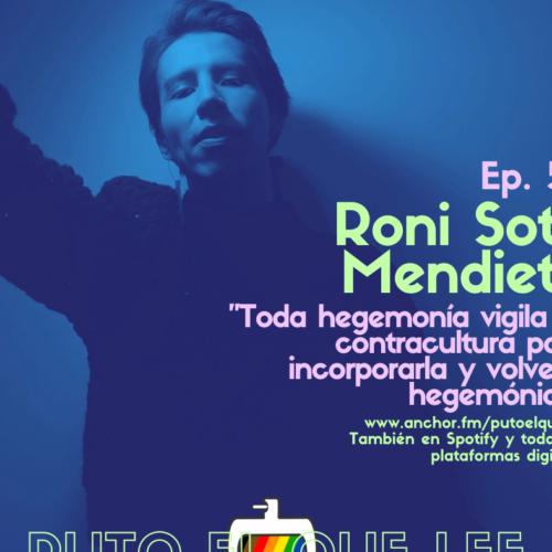 Ep 59: Vestir el tiempo, con Roni Soto Mendieta